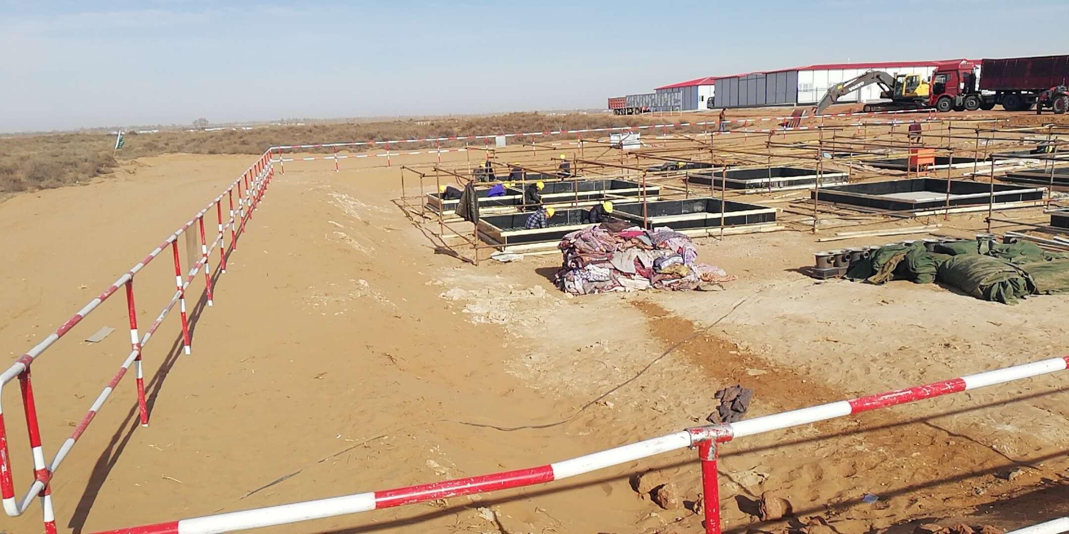 红庆河500KV(千伏)变电站——同新木业